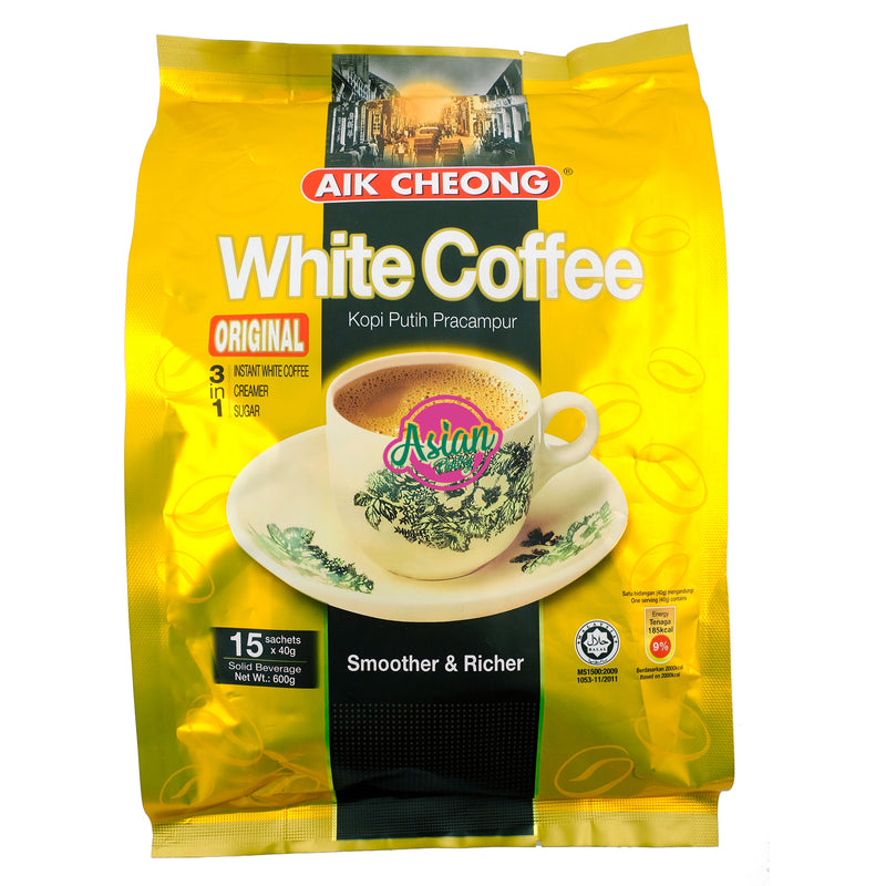 Aik Cheong White Coffee Mix 600g Front