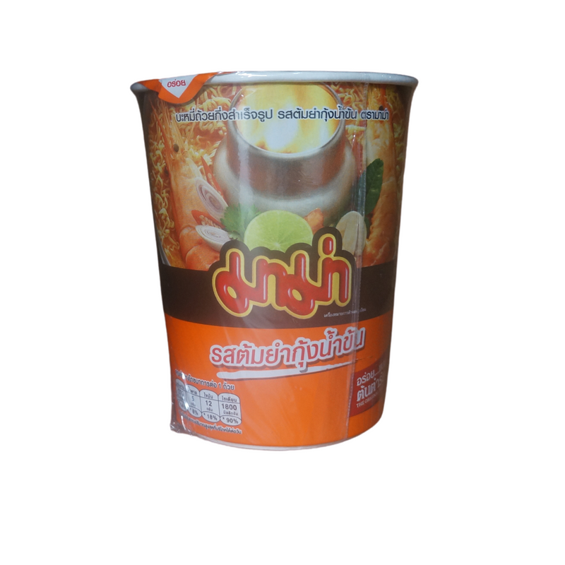 Mama Creamy Tom Yum Noodle Cup 60g Front