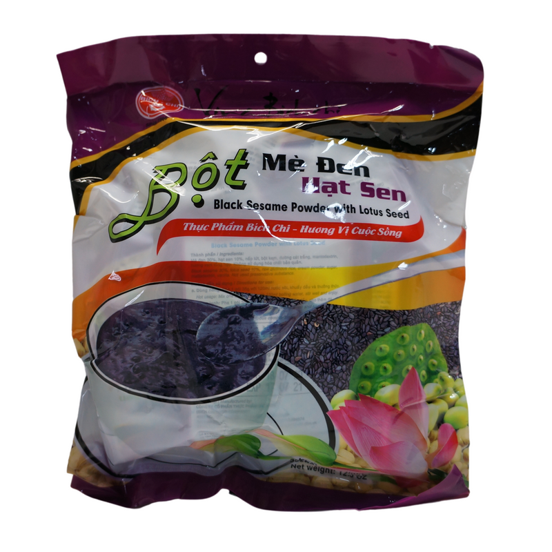 Bich-Chi Black Sesame Powder with Lotus Seed 350g Front
