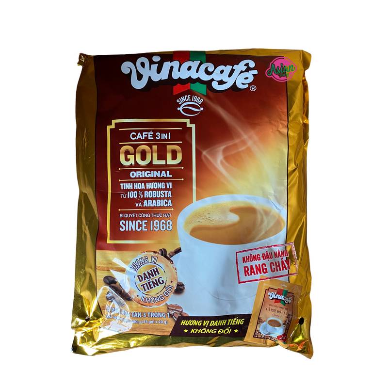 Vinacafe Instant Coffee Mix 480g Nutritional Information & Ingredients