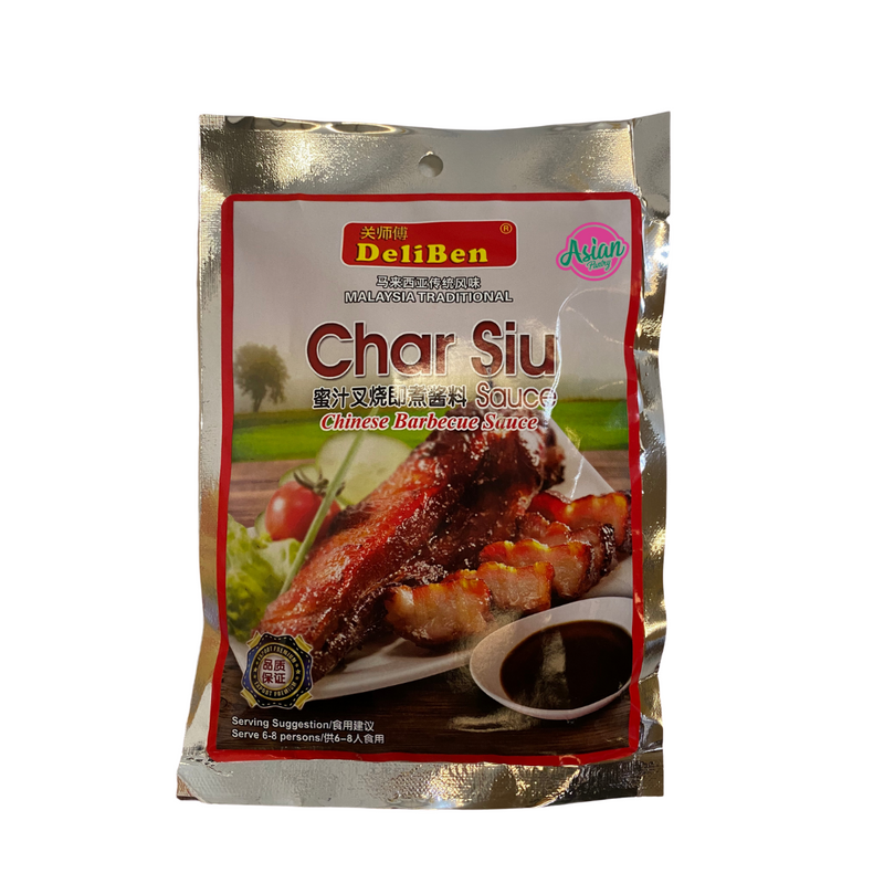 Deliben Char Siu Barbecue Sauce 200g Front