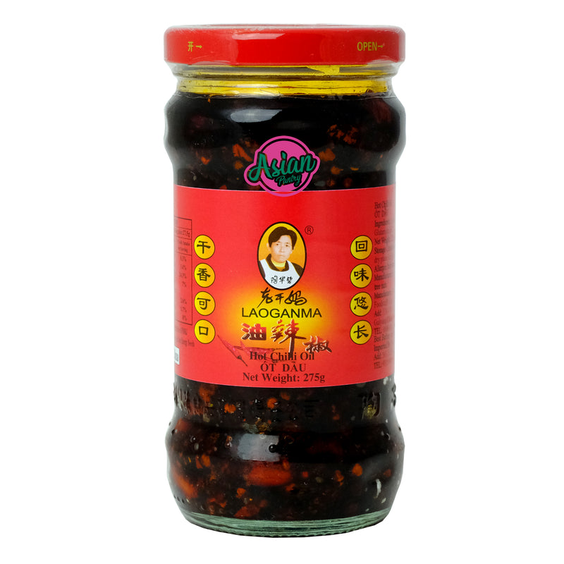 Laoganma Hot Chilli Oil 275g Front