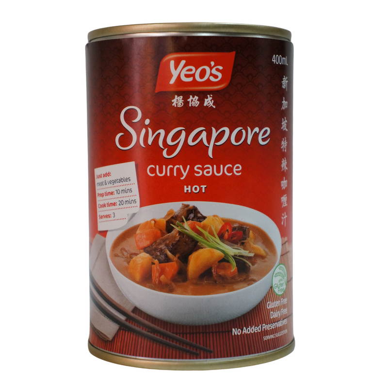Yeo's Singapore Curry Sauce 400ml Front