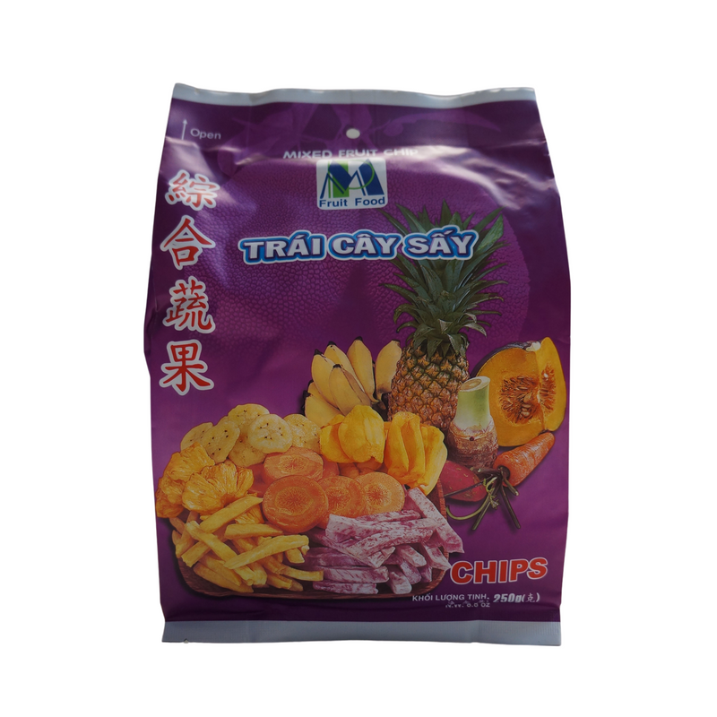 Fruit Food Mixed Fruit Chips 250g Front