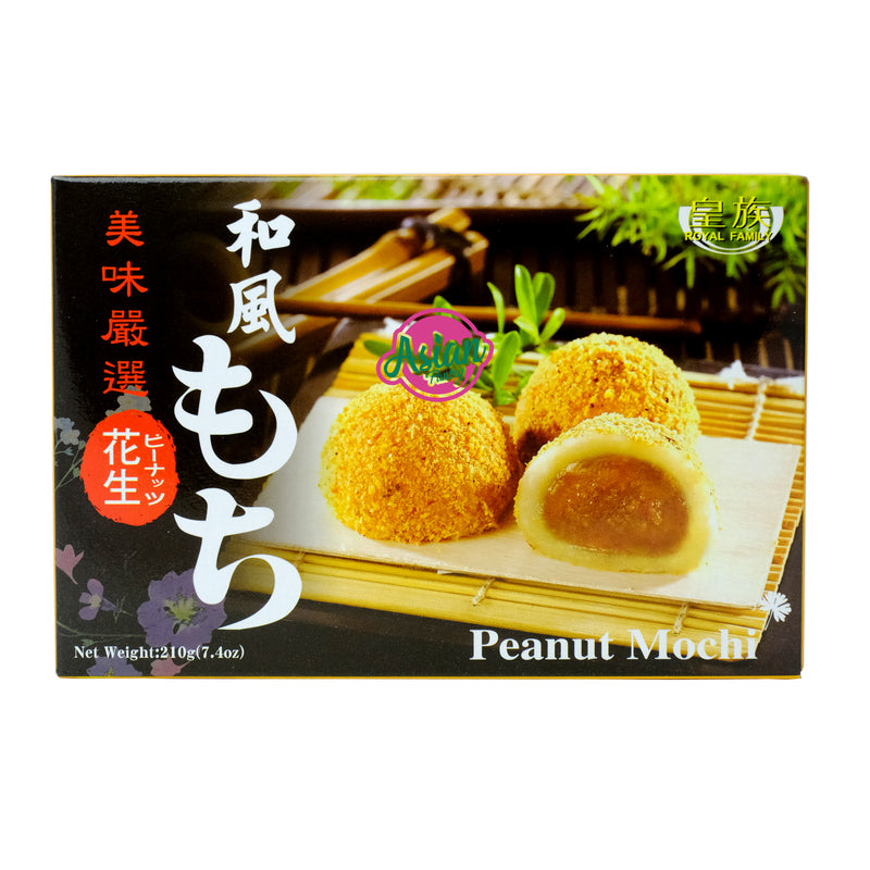 Royal Family Peanut Mochi 210g Front