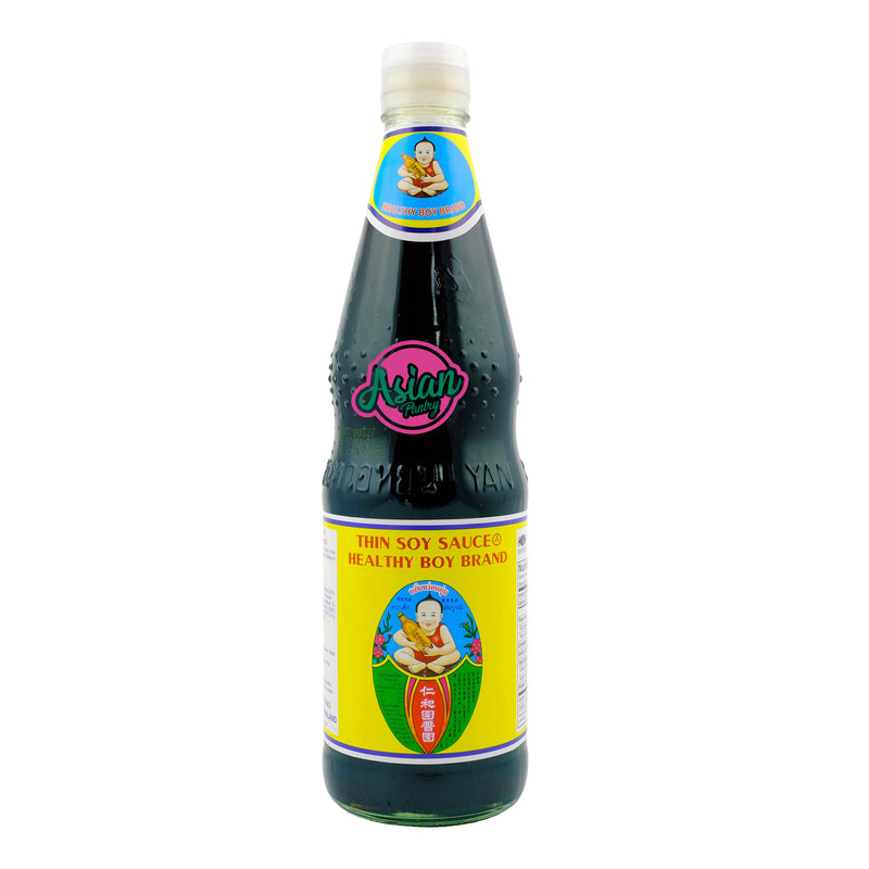 Healthy Boy Thin Soy Sauce 700ml Front