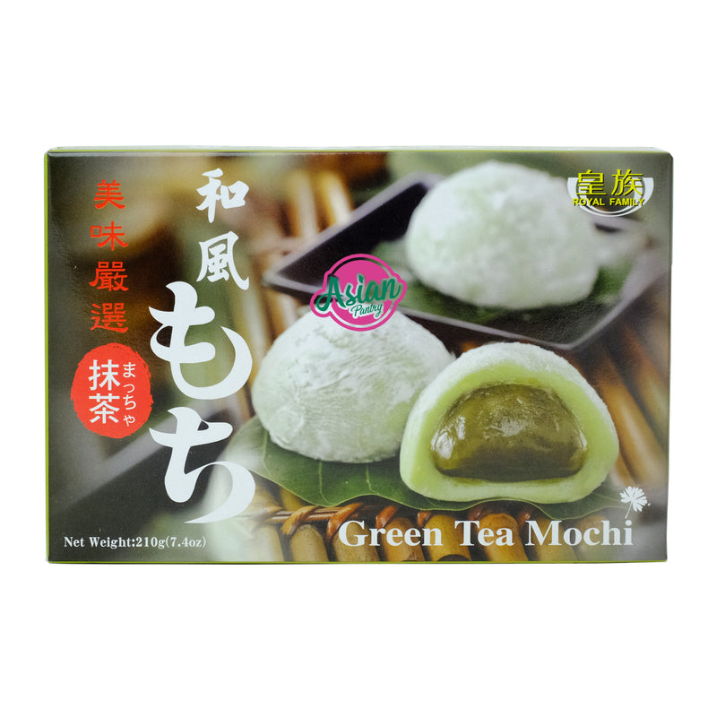 Royal Family Green Tea Mochi 210g Front