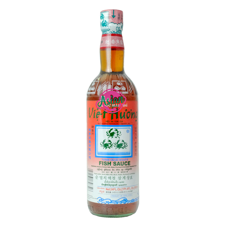 Three Crabs Fish Sauce 682ml Front