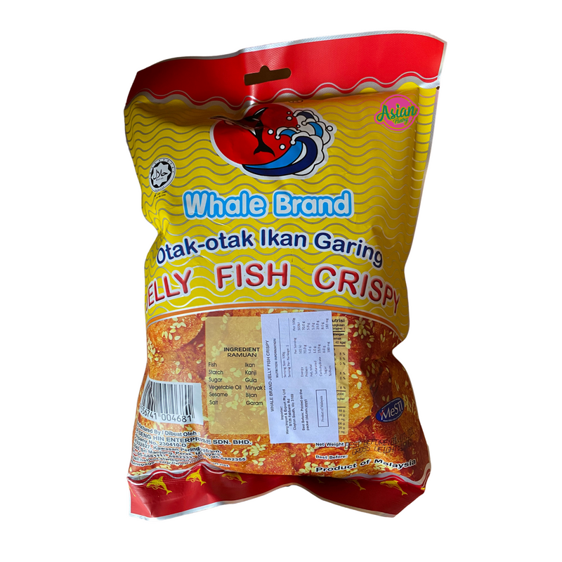 Whale Brand Jelly Fish Crisp 100g Front