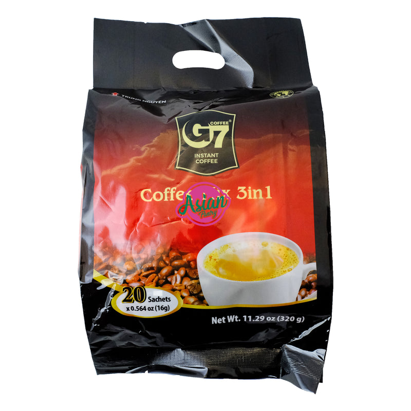Trung Nguyen G7 Instant Coffee Mix 3 in 1 320g Front