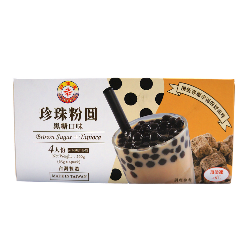 [FRESH] Delicious Brown Sugar + Tapioca 4pk 260g Front