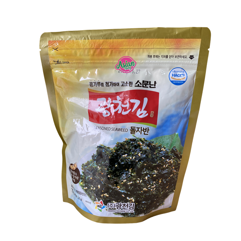 KC Seasoned Seaweed 70g Front