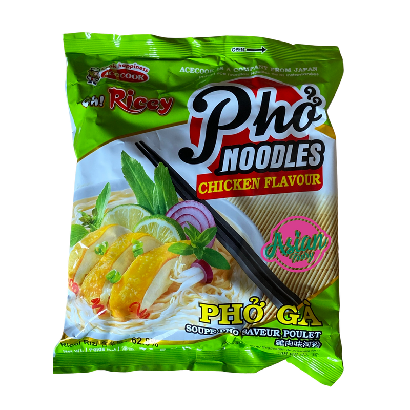 Oh Ricey Pho Chicken Flavour 71g - Asian PantryOh Ricey Asian Groceries