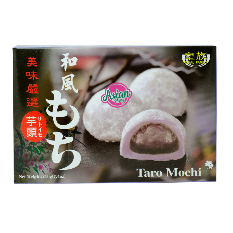 Royal Family Taro Mochi 210g Front