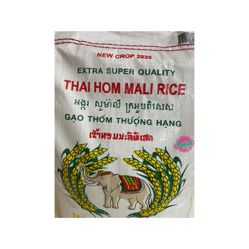 Lucky Elephant Thai Jasmine Rice 5000g Nutritional Information & Ingredients