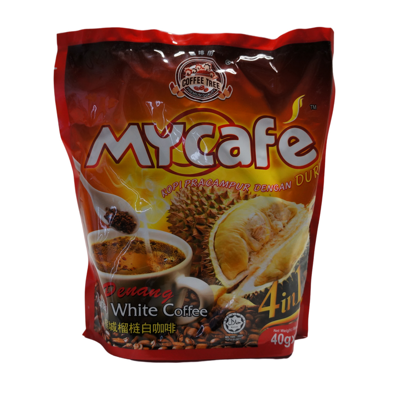 Coffee Tree My Cafe Durian Coffee Mix 600g Front