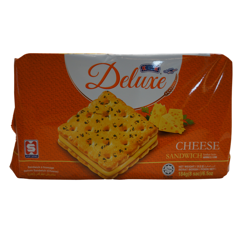 Deluxe Cheese Sandwich 184g Front