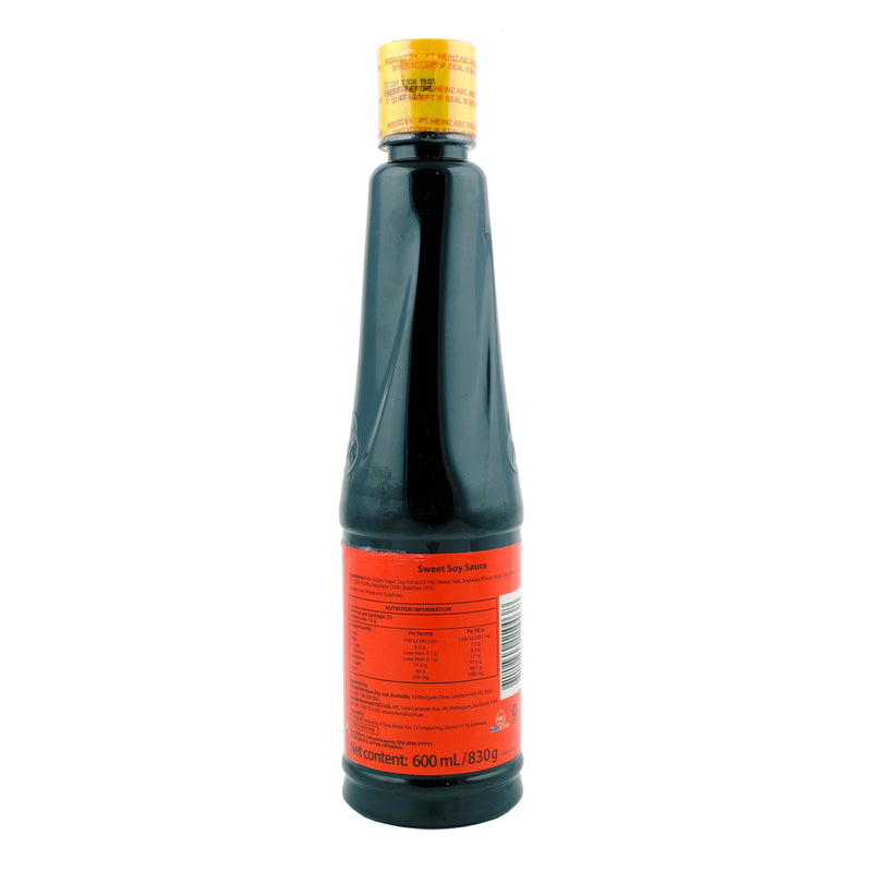 ABC Sweet Soy Sauce 600ml Back