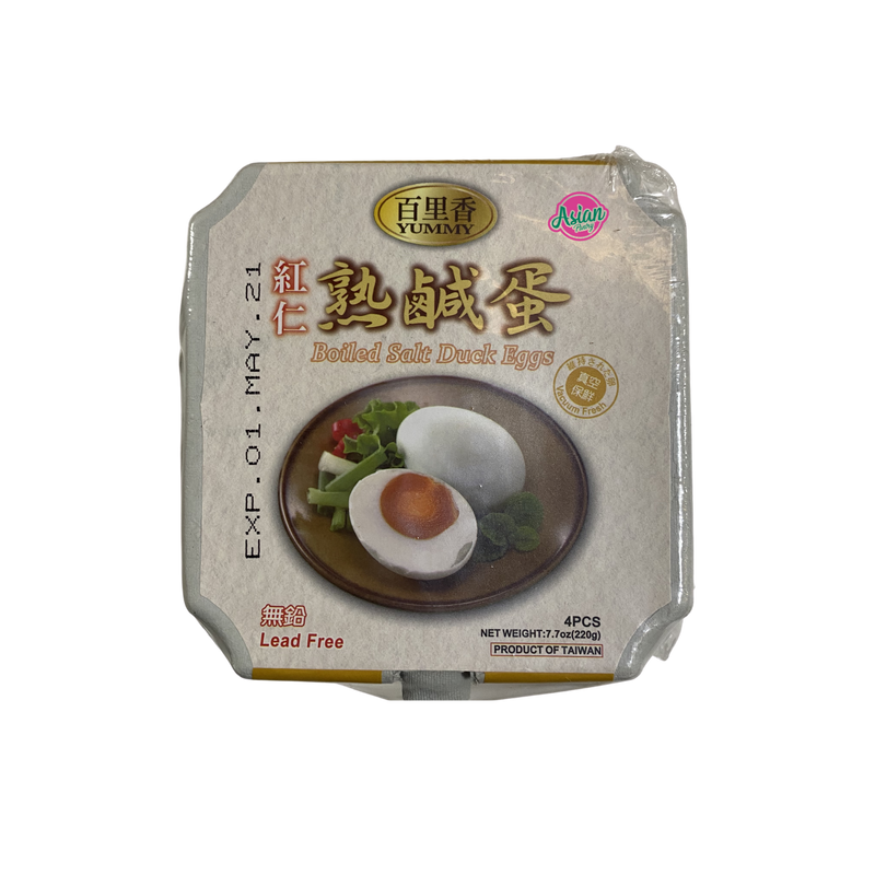 Yummy Boiled Salty Duck Eggs 220g Front