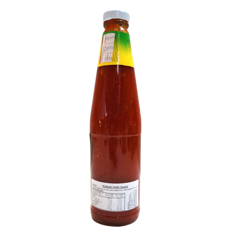 Kimball Chilli Sauce 500g Back