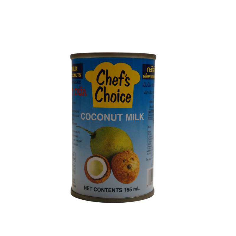 Chef's Choice Coconut Milk 165ml - Asian PantryChef's Choice Asian Groceries