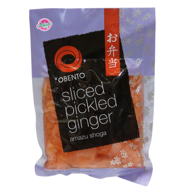 Obento Pickled Ginger Sliced 100g