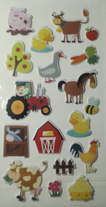 Stickers : Puffy Farm