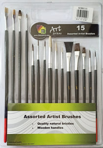 Artist Brushes set of 15