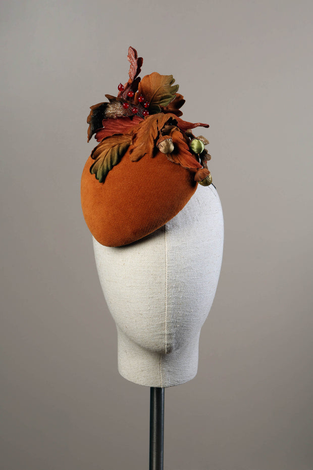 """A Walk in the Woods"" Cocktail Hat"