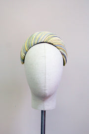 Alison Headband- Chunky Silk Stripes