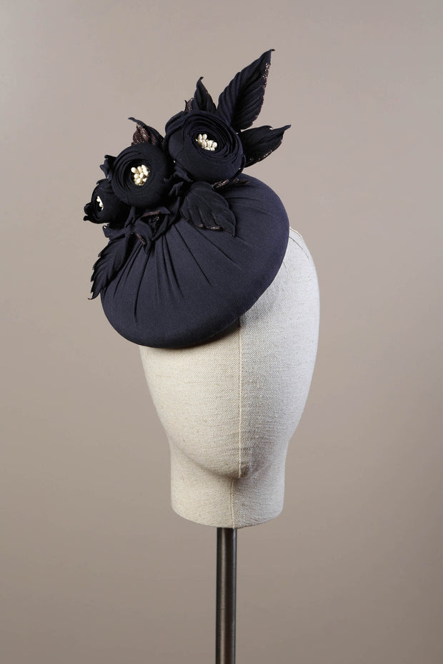 Anja Button Cocktail Hat