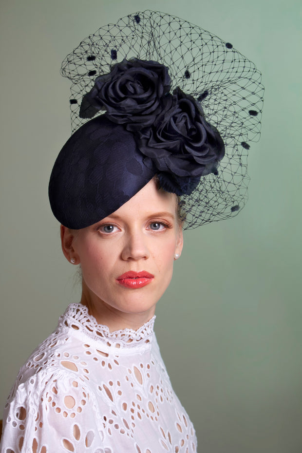 Anne-Marie Cocktail Hat