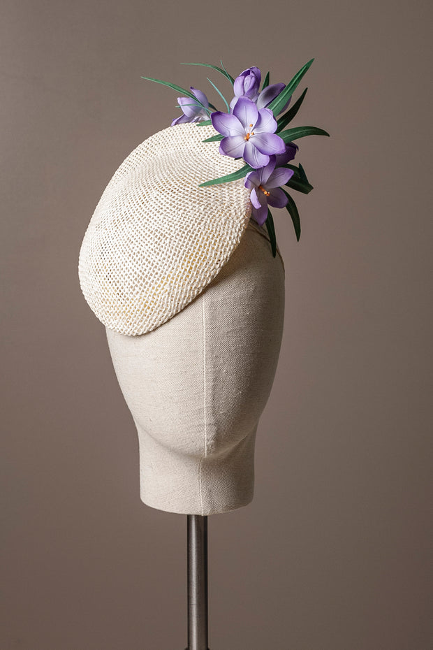 Crocus Cocktail Hat