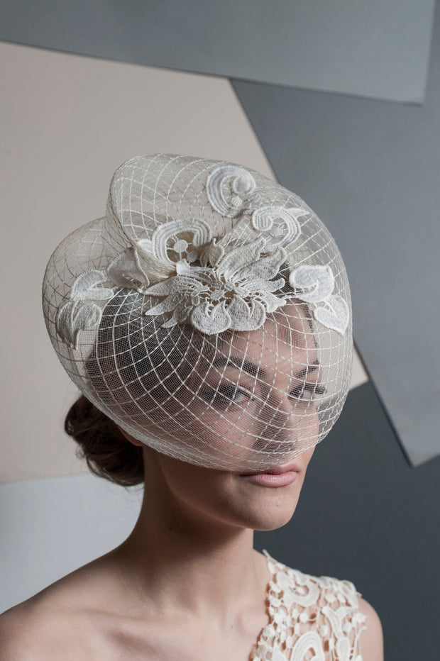 Diamond Crinoline Headpiece
