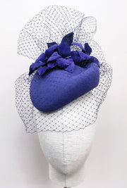 Miss Violet Cocktail Hat