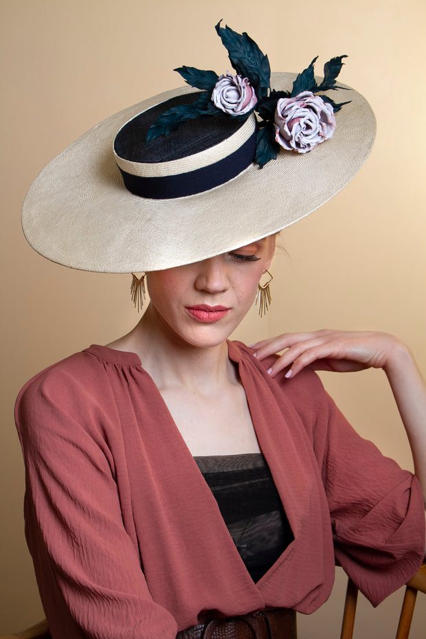 Myriam Boater Hat