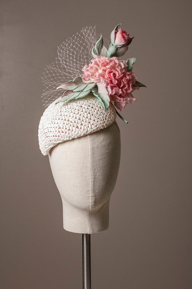 The Rose Cocktail Hat