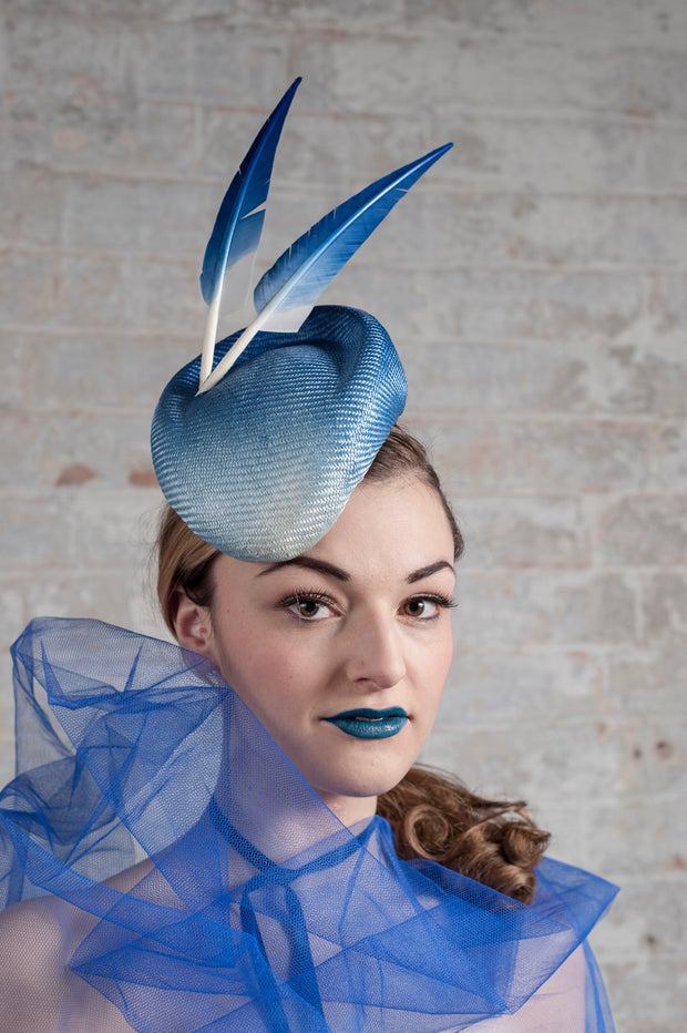 Ultramarine Cocktail Hat