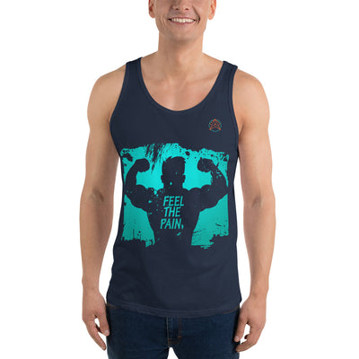 Feel the pain workout Unisex Tank Top