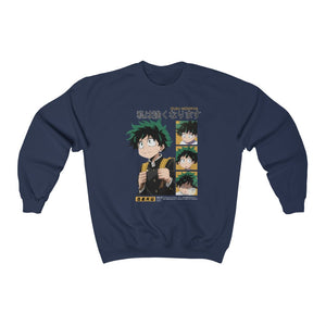 Midoriya I'll Be Strong Sweatshirt