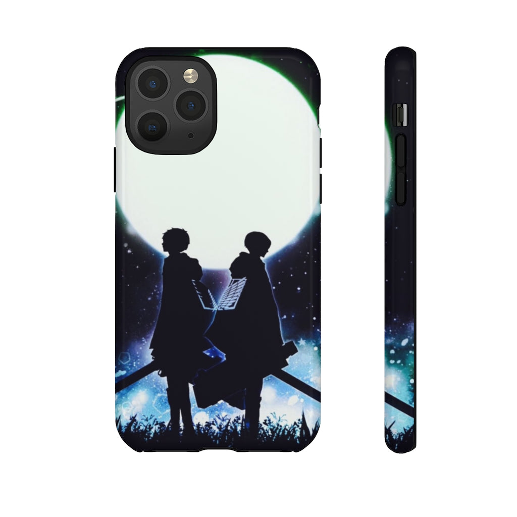 Eren & Levi Moonlight iPhone Case