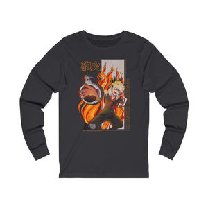 Bakugou Gunfire Long Sleeve Tee