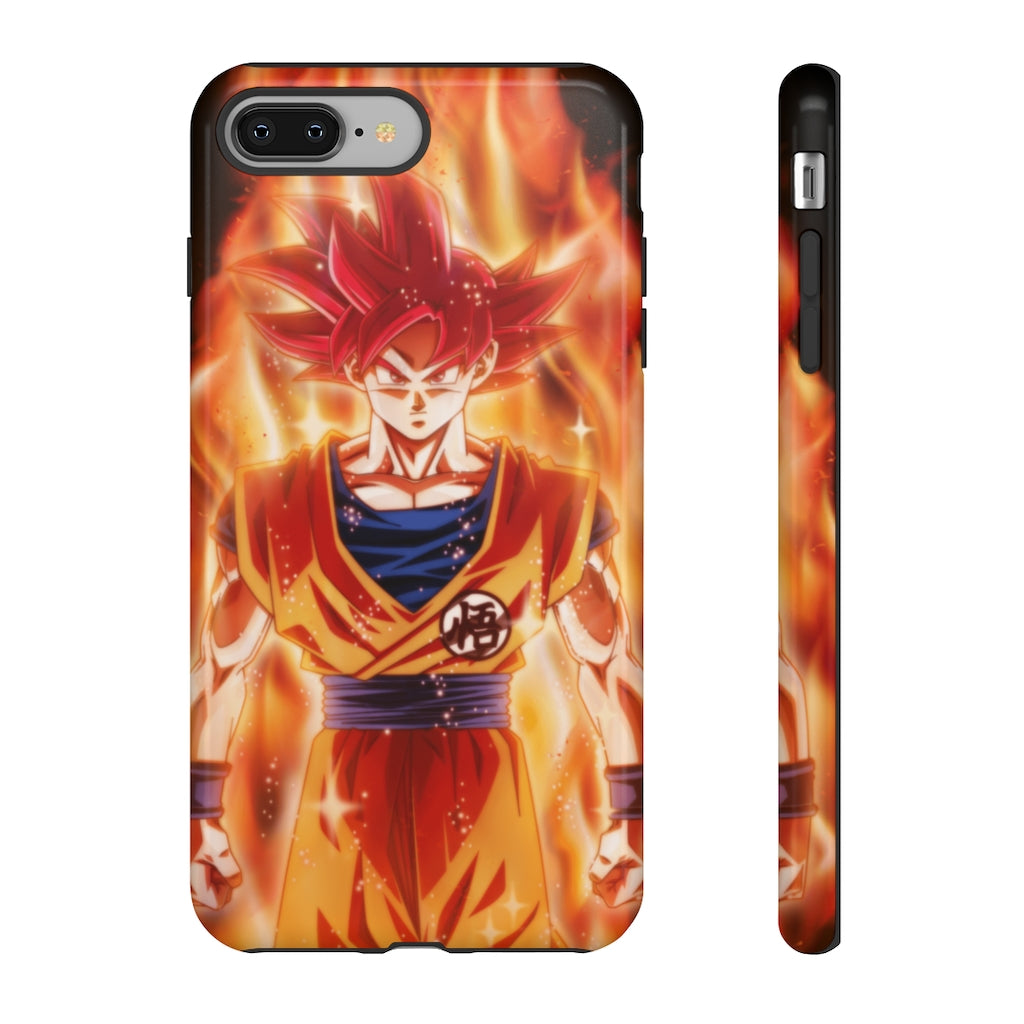 Super Saiyan God Goku iPhone Case