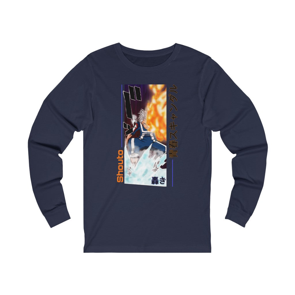Shouto Todoroki Long Sleeve Tee
