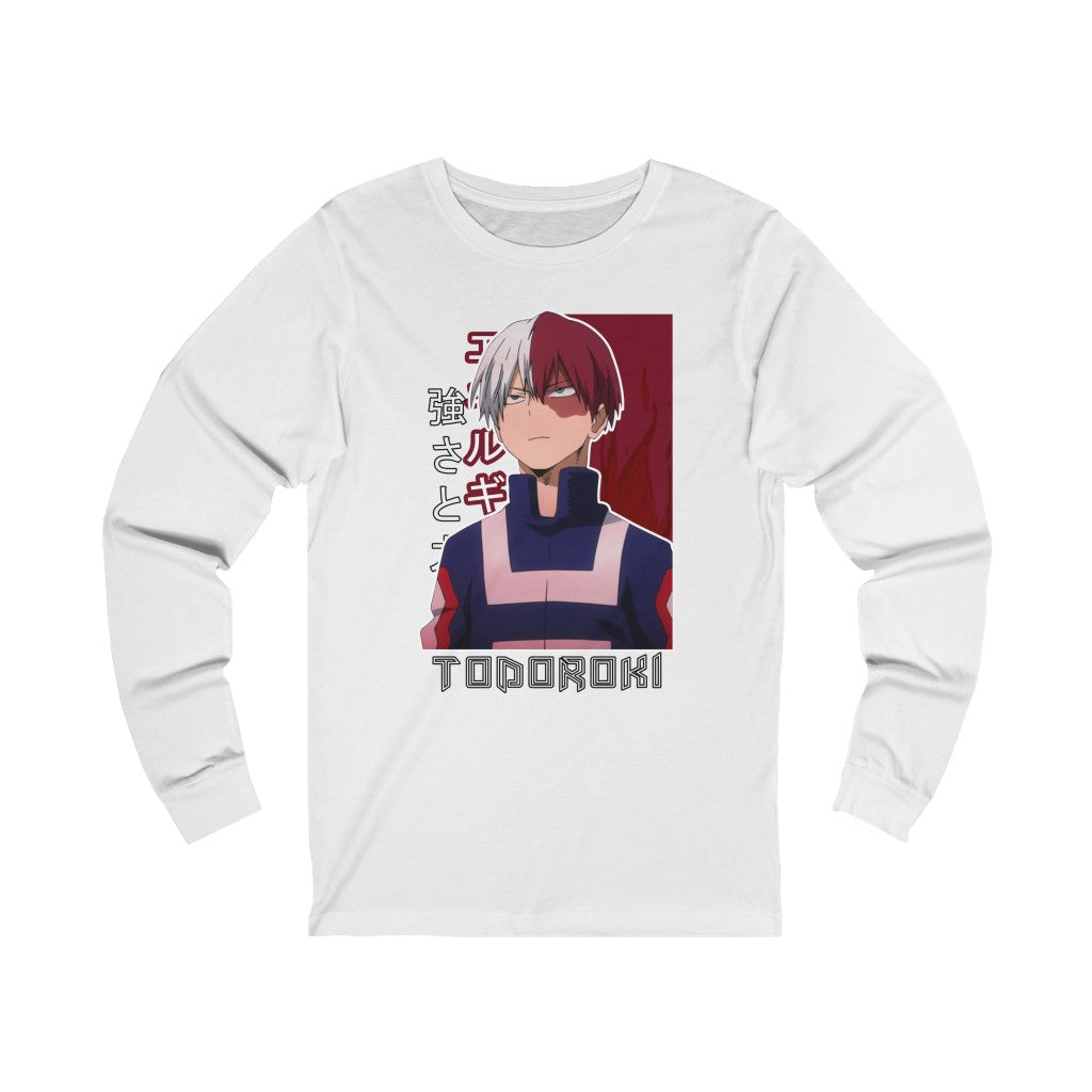 Todoroki Ice & Fire Long Sleeve Tee