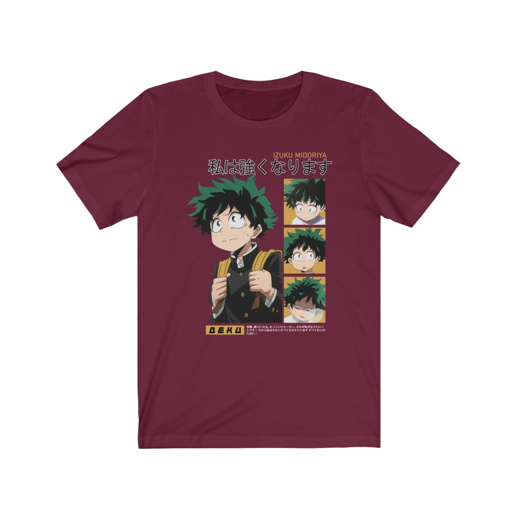 Midoriya I'll Be Strong T-Shirt