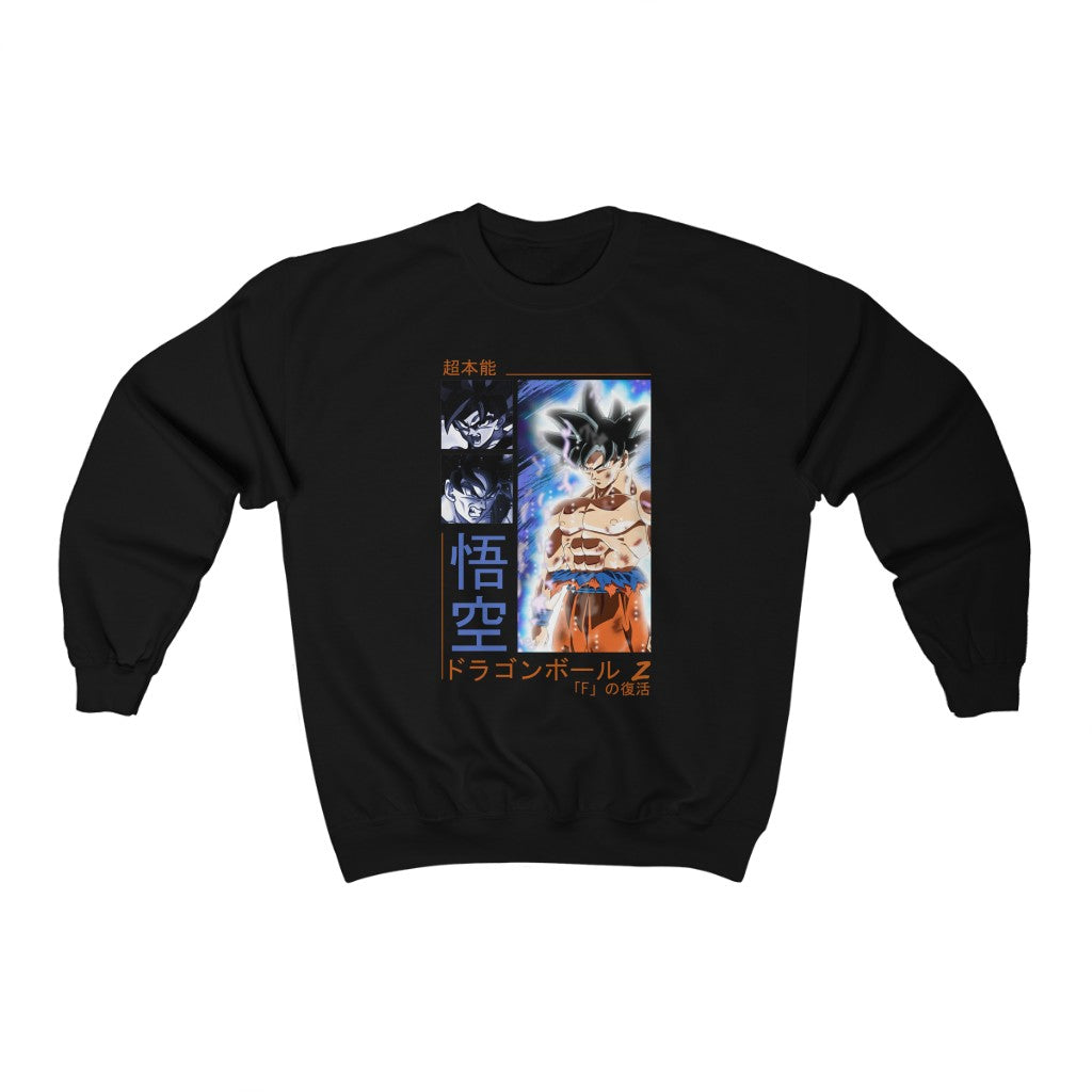 Ultra Instinct Goku Sweatshirt