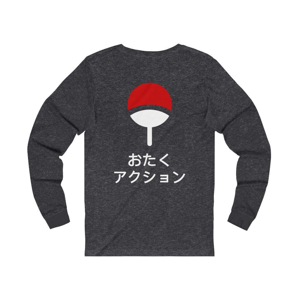 Sasuke's Eternal Mangekyou Sharingan Long Sleeve Tee