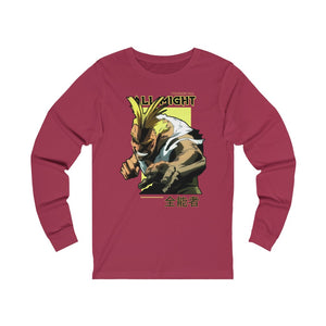 All Might Long Sleeve Tee