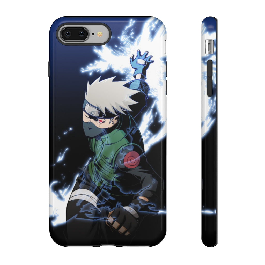 Kakashi Lightning Blade iPhone Case